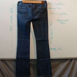 American Eagle Outfitters Jeans - American Eagle kick boot stretch 👖 sz 0